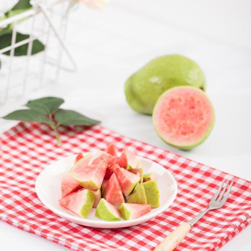 水果 新鲜 切块 番石榴