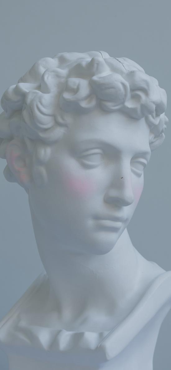石膏像 雕塑 白色