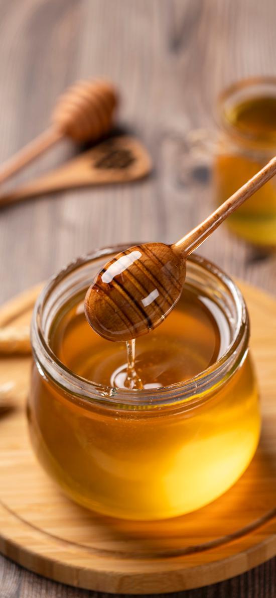 蜂蜜 蜜糖 玻璃罐
