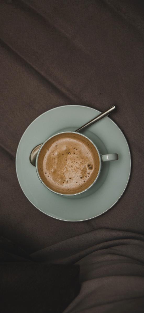 咖啡 杯具 勺 饮品