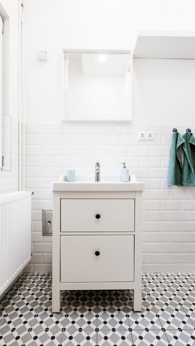 浴室 实际 洗手台 白色 简洁