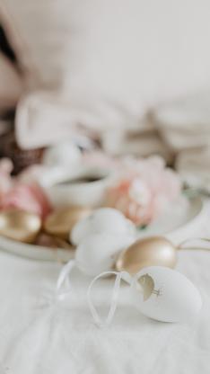 蛋壳 装饰 喷色 精致