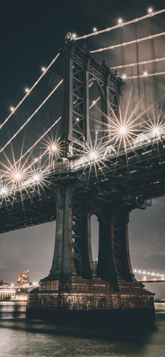 美国 地标 曼哈顿大桥
