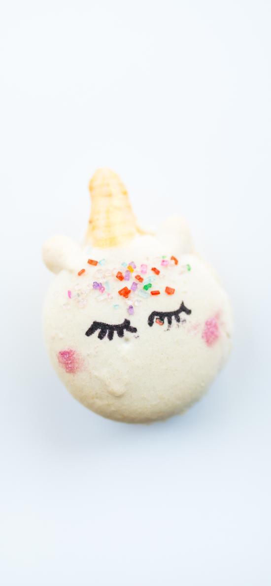 烘焙 甜品 马卡龙 独角兽