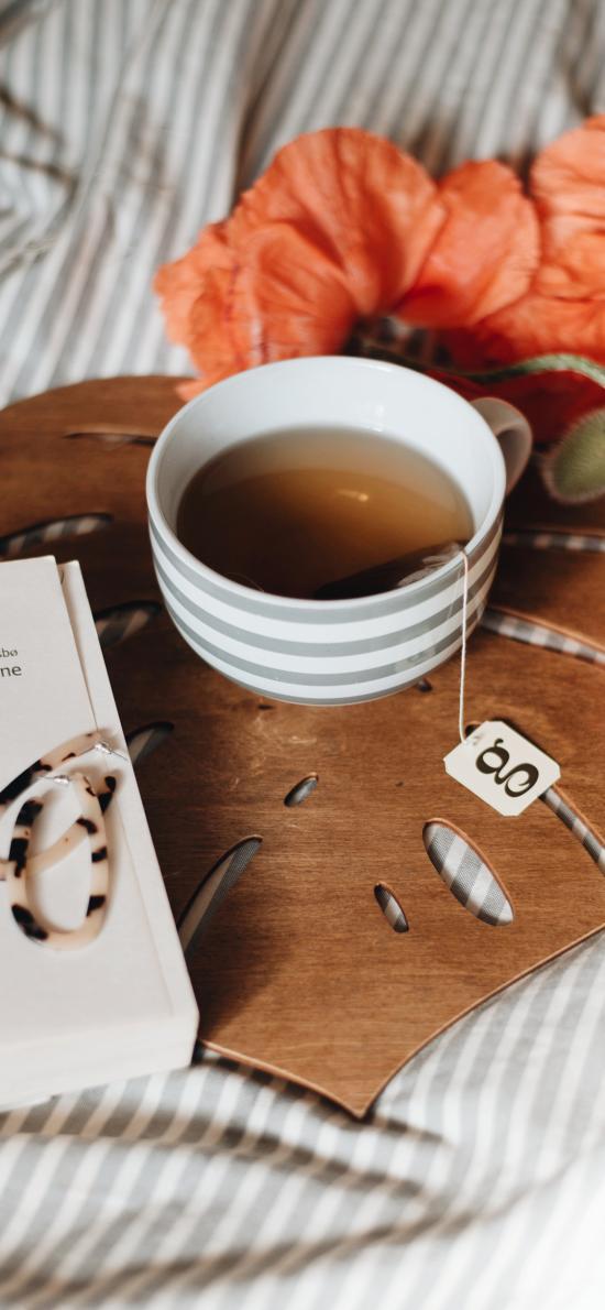 茶水 杯子 静物 茶包