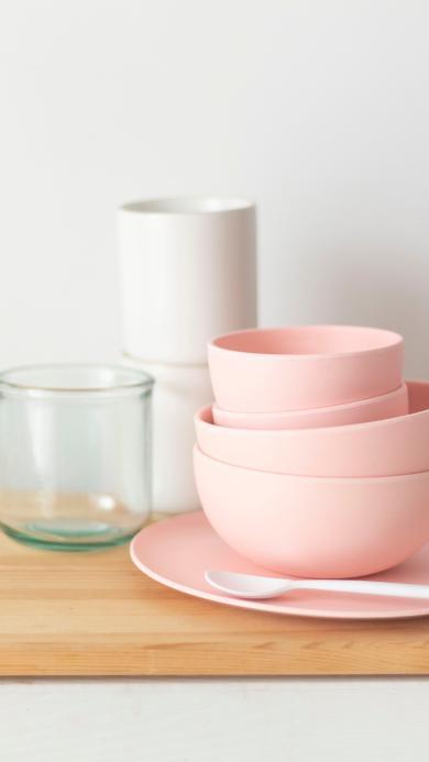 餐具 碗 色彩 杯子