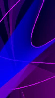 线条 蓝色  流动 抽象 平面