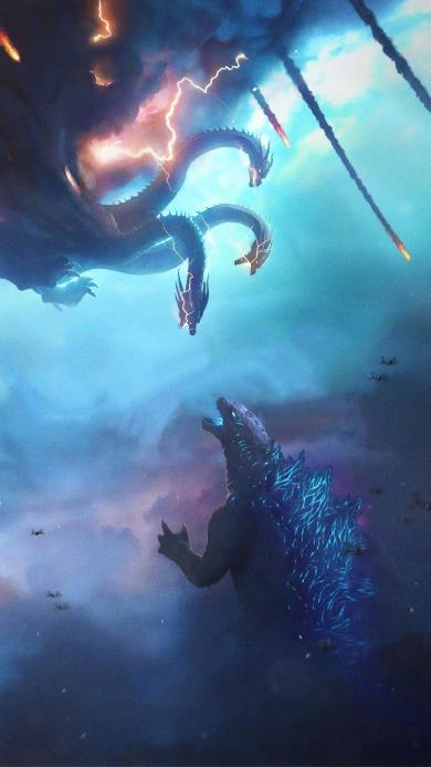 哥斯拉2 怪兽之王 电影 科幻 欧美 海报