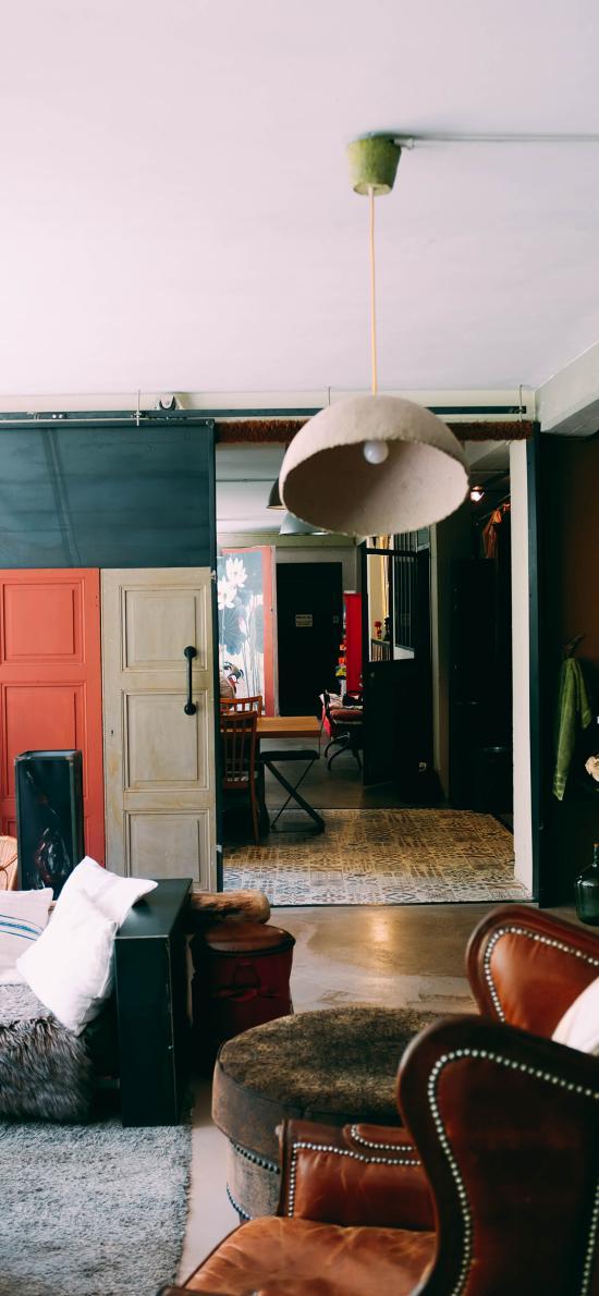 空间 家居设计 沙发 吊灯