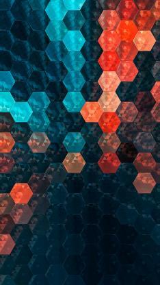 六边形 几何 密集 平面