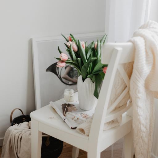 家居 花瓶 郁金香 椅子