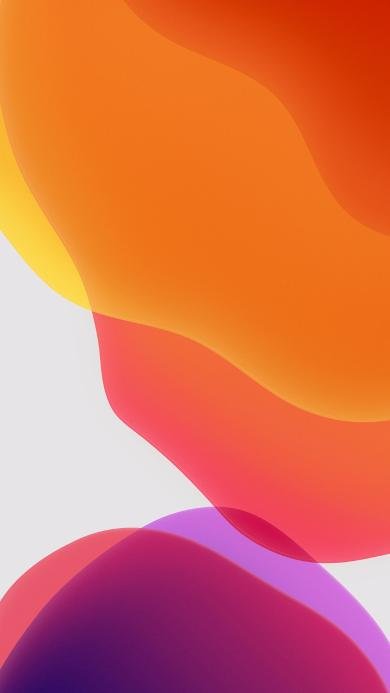 iOS13内置壁纸 流动 曲线 线条