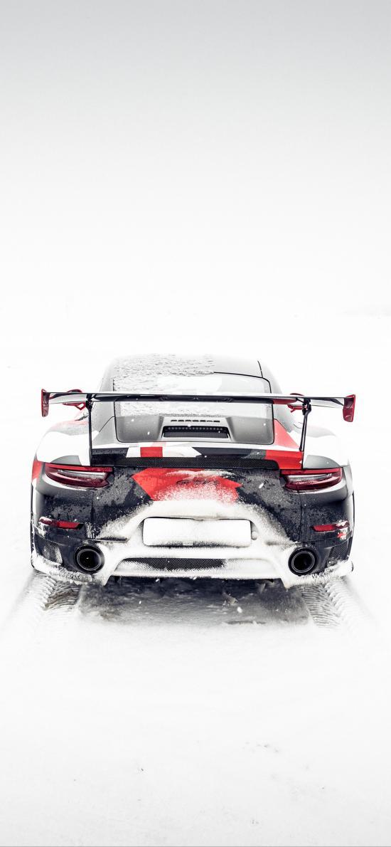 跑车 炫酷 雪地 冬季