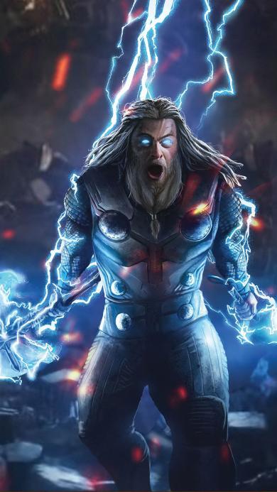雷神 托尔 欧美 超级英雄 漫威