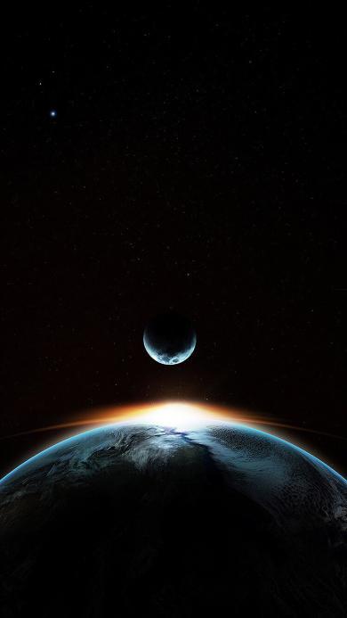 宇宙 星球 月亮 地球 星系
