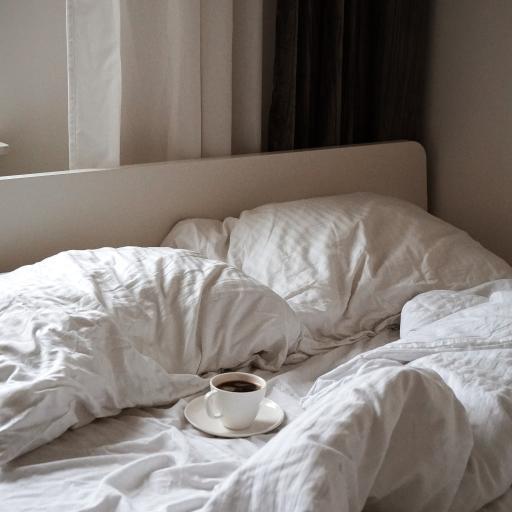 床铺 咖啡 杯具 枕头