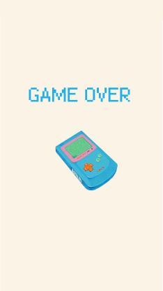 游戏机 复古 game over