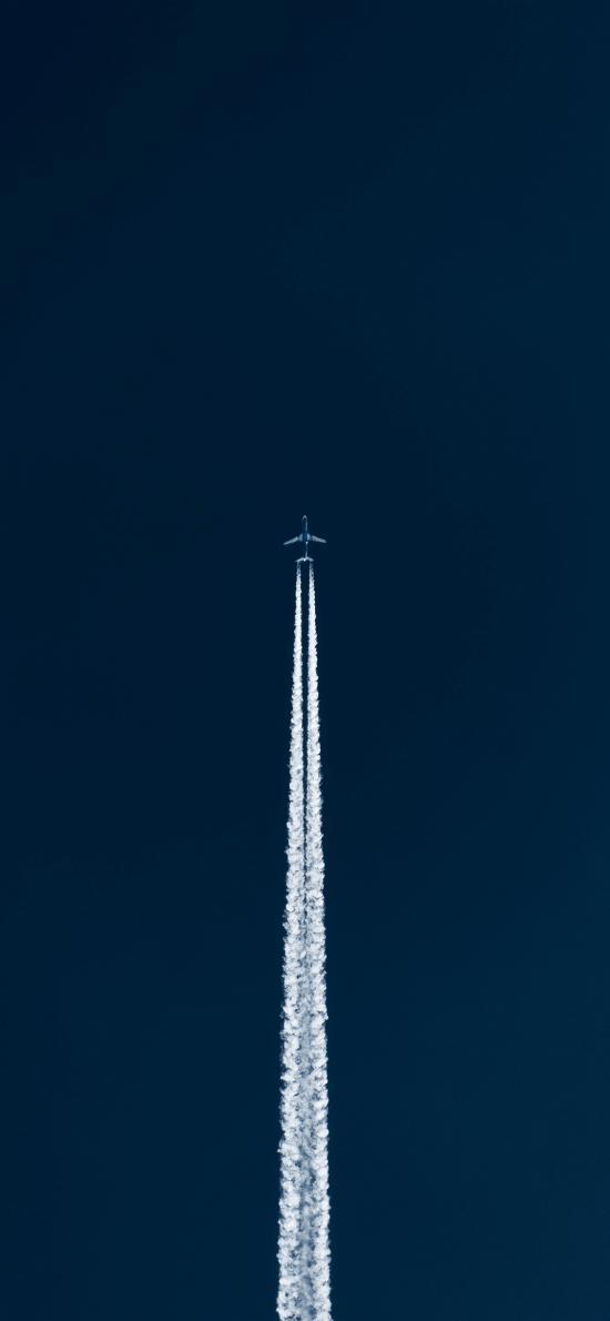 飞机 喷雾 天空 干冰