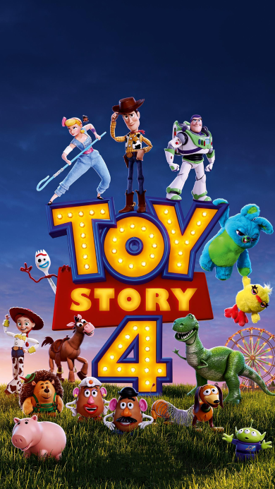 玩具总动员4 动画 欧美 巴斯光年 胡迪 海报