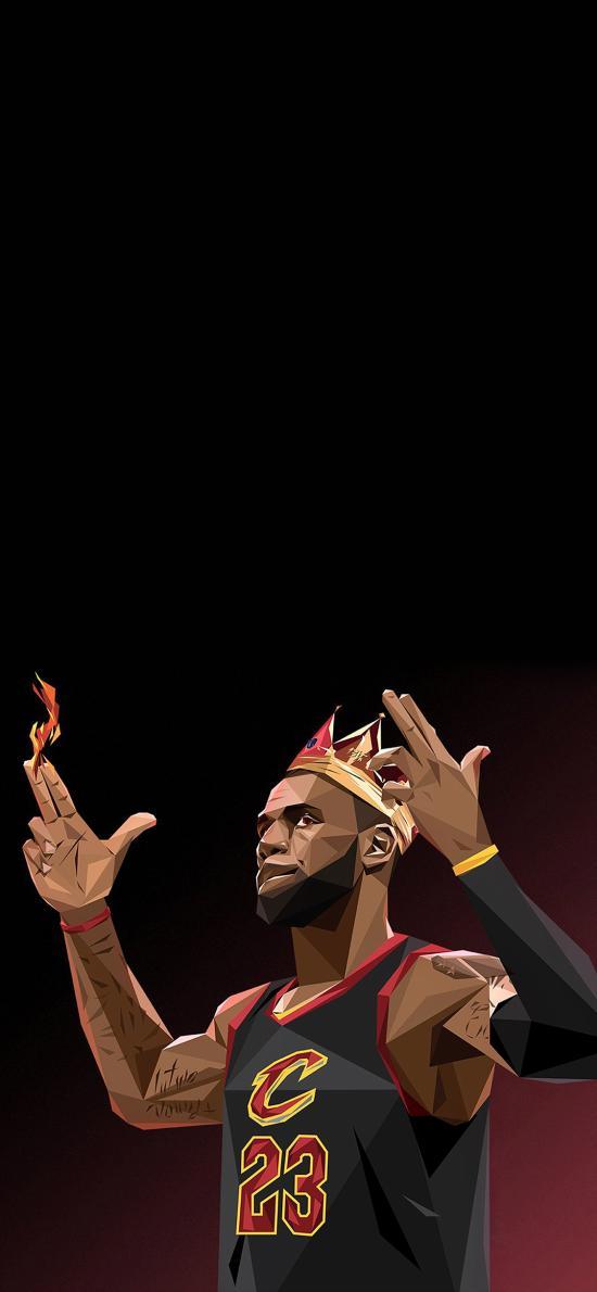詹姆斯 运动 球星 NBA 平面