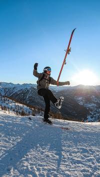 滑雪 运动 雪山 极限