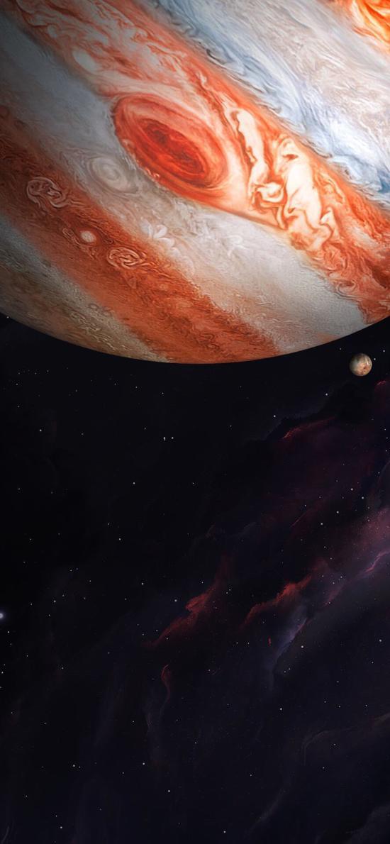 星球 星空 银河 色彩
