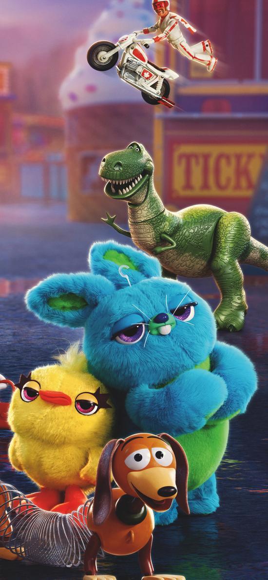 玩具总动员4 动画 欧美 恐龙