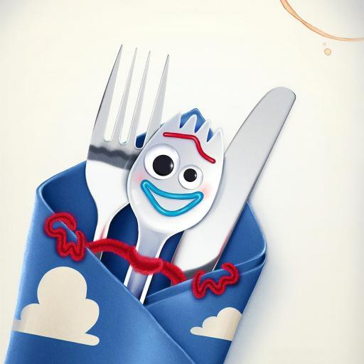 玩具总动员4 动画 欧美 海报 刀叉