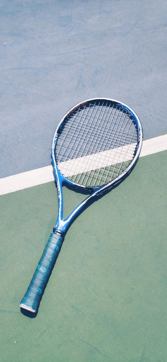 网球 球拍 场地 运动