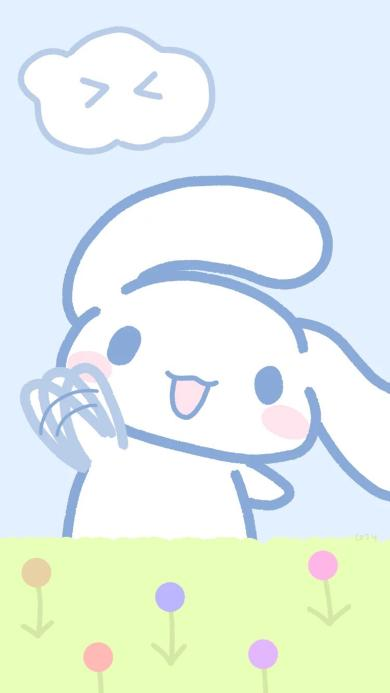 卡通 兔子 简笔 可爱