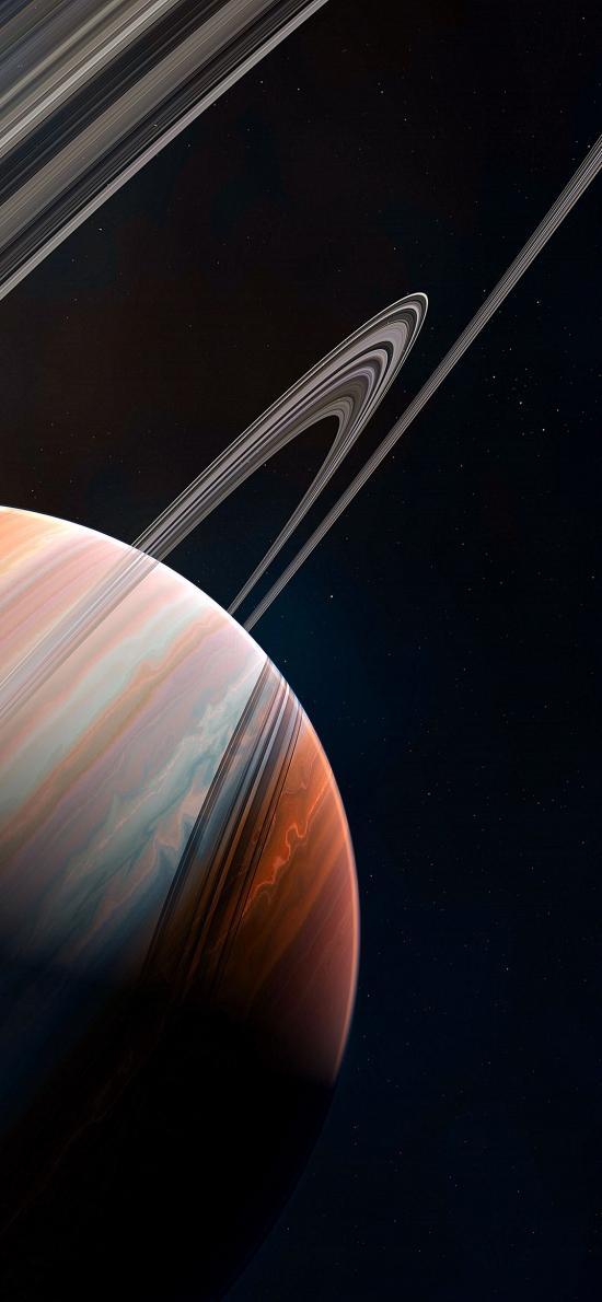 星球 宇宙 太空 光圈