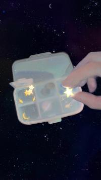 首饰盒 星星 月亮 梦幻(取自站酷网:中下游)