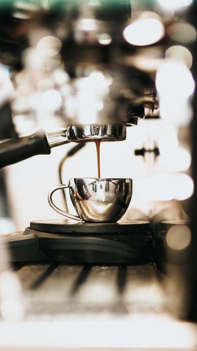 咖啡机 饮品 咖啡 过滤