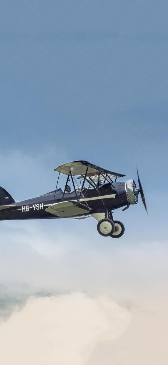 飞机 滑翔机 飞行 航空 驾驶