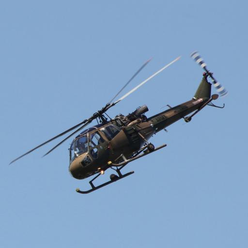 直升机 飞行 航空 螺旋桨 蓝色