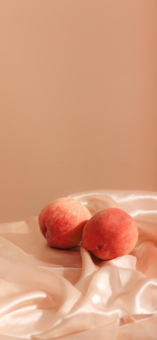 桌布 水果 桃子 水蜜桃