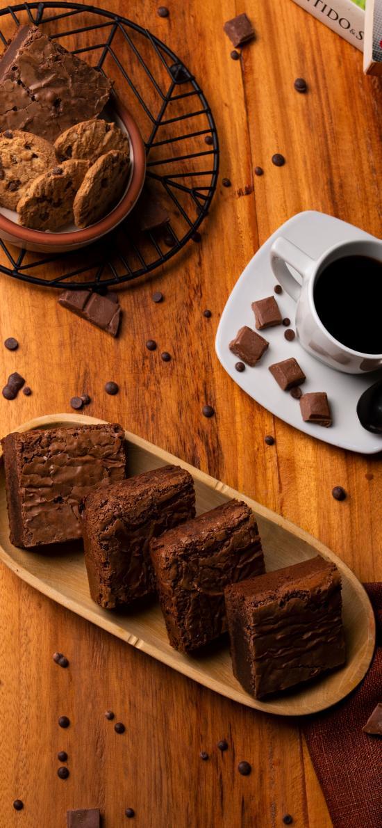 咖啡 巧克力 饼干 糕点