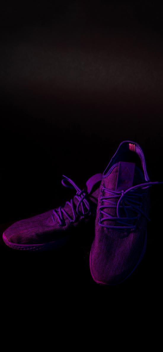 运动 跑鞋 紫色 品牌