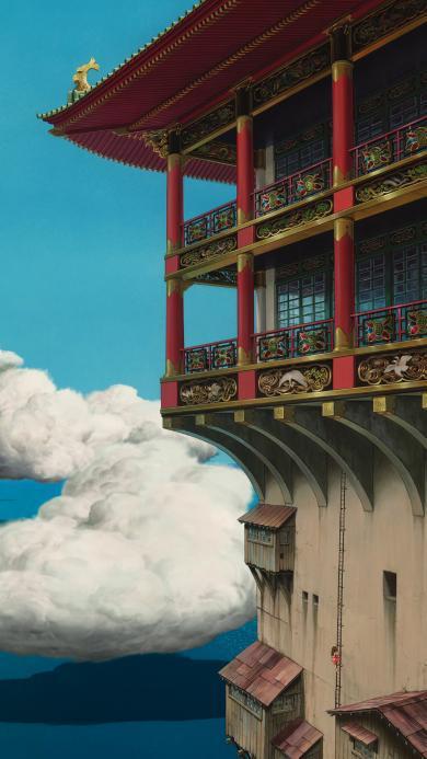 千与千寻 宫崎骏 日本 动画