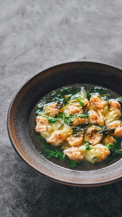 主食 面食类 馄饨 汤水 配菜