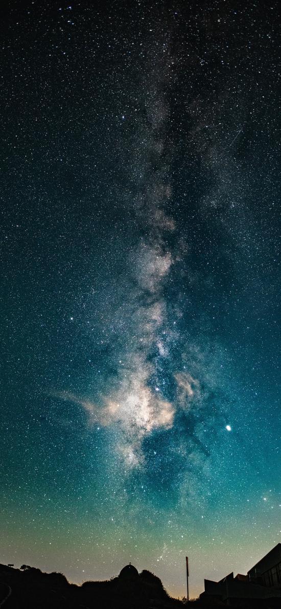星空 夜景 梦幻 唯美