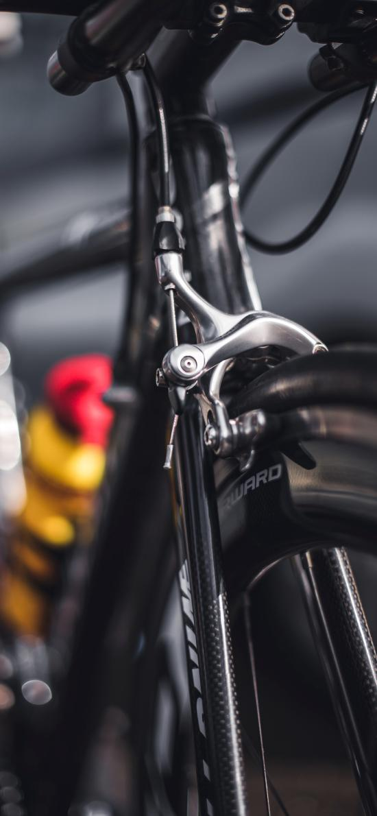 自行车 单车 零件 特写