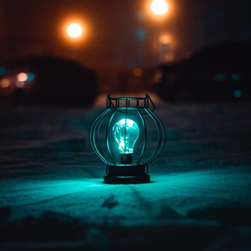 冷光 照明 照亮 灯光