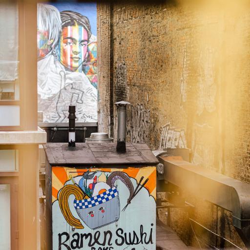 墙绘 街头艺术 色彩 人物