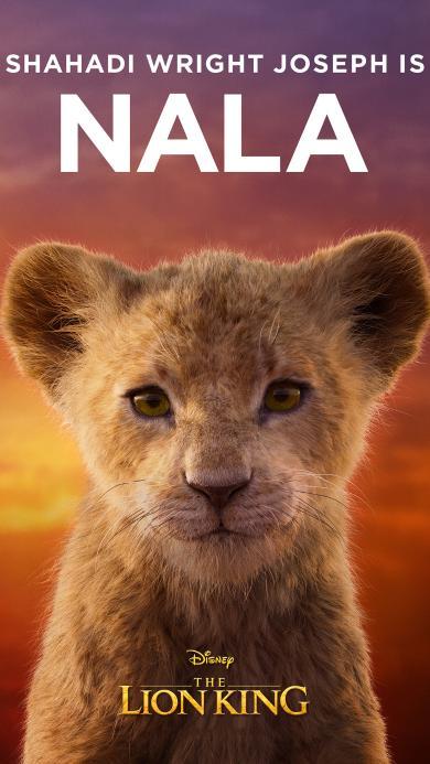 迪士尼 狮子王 海报 NALA