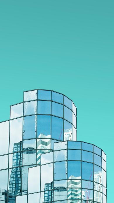 房屋 建筑 设计 反光玻璃