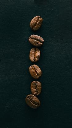 食材 咖啡豆 颗粒 饱满
