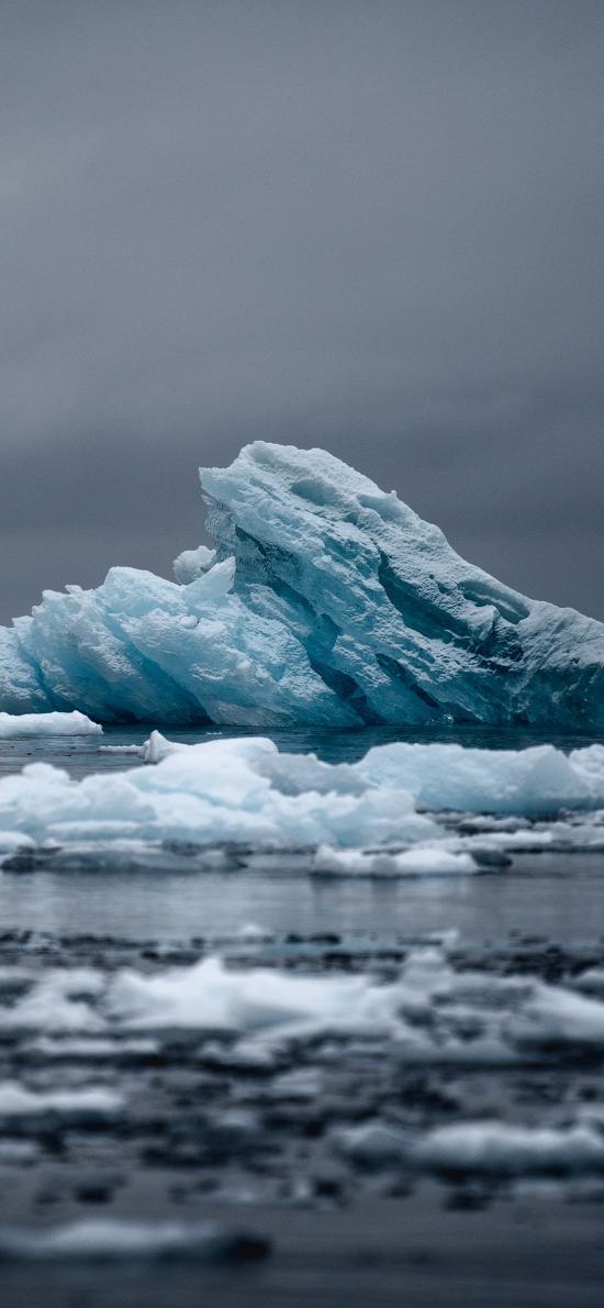 南极 冰川 寒冷 结冰