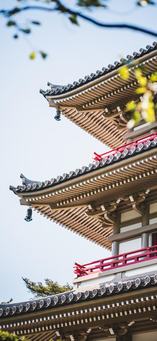 建筑 设计 浅草寺 日本  塔楼