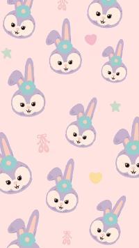 迪士尼  星黛露 兔子 平铺